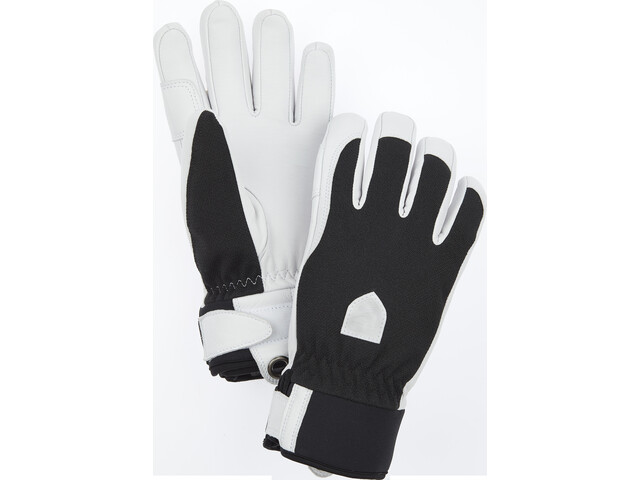 Hestra Army Leather Patrol Guantes 5 Dedos Mujer, black
